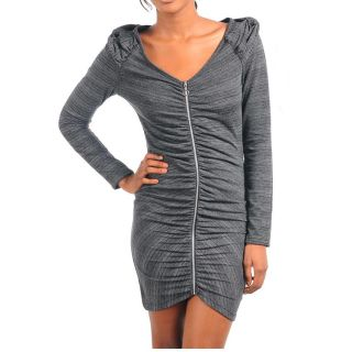 Stanzino Womens Charcoal Long Sleeve Dress