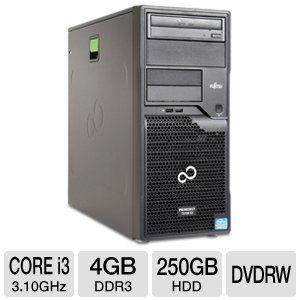 Fujitsu PRIMERGY TX100 S3 Tower Server System Intel Core