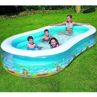 Bestway 138X72X22 Sea Scene Family Pool Toys & Games