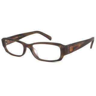 Calvin Klein Readers Womens CK7711 Brown Rectangular Reading Glasses