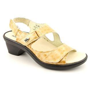 Spring Step Womens Parma Faux Crocodile Sandals (Size 6.5