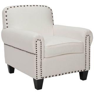 Chester White Club Chair