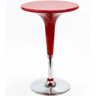 Red Ice Cream Bar Table
