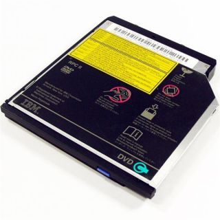 IBM 27L4355 ThinkPad Ultralight Black 8x DVD ROM