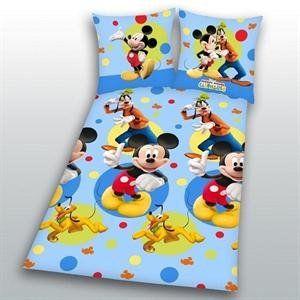 Bettwäsche Mickey Mouse Clubhouse bunt Baumwolle Grösse 135/200