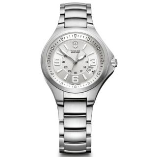Victorinox Swiss Army Womens Base Camp Silver Dial Watch