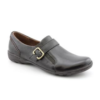 Hush Puppies Womens Newell Leather Casual Shoes