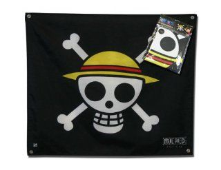 One Piece Piratenflagge / Fahne / Jolly Roger: Skull Ruffy (50 x 60 cm