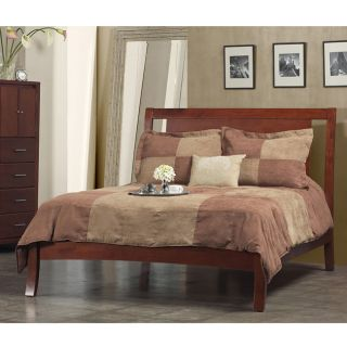 Nevis Low Profile Spice Full size Bed