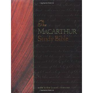MacArthur Study Bible NKJV New King James MacArthur Study Bible