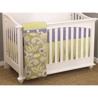 Cotton Tale Periwinkle 3 piece Bedding Set