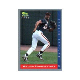 1993 Classic/Best #143 William Pennyfeather Collectibles