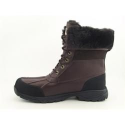 UGG Australia Mens Brown Butte Winter Boots