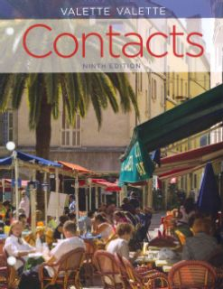 Contacts Langue Et Culture Francaises (Other book format) Today $182