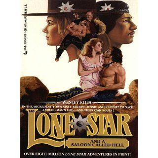 Lone star 143/saloon (Lonestar, 143) eBook Wesley Ellis
