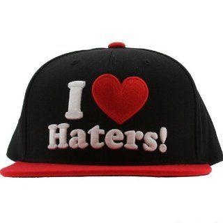 Snapback I Love Haters Cap DGK Schwarz Rot SkateBoard Wiz Khalifa Tyga