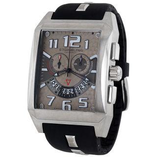 Stuhrling Original Mens Mad Man C2 Quartz Chronograph Watch