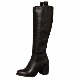 Steven by Steve Madden Womens Woper Black Riding Boots FINAL SALE