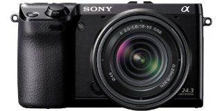 Sony NEX 7KB Systemkamera 3 Zoll Kit inkl. 18 55 mm Kamera