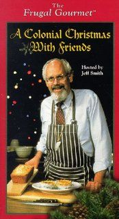 The Frugal Gourmet Colonial Christmas [VHS] Frugal