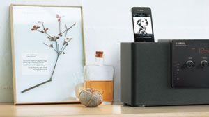 Yamaha TSX 140 Desktop Audio System with iPod Dock (Black