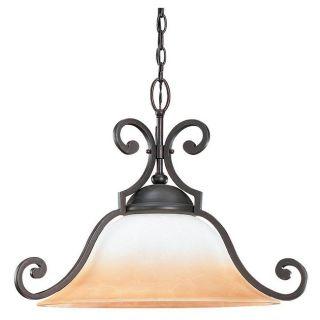 Brandywine Brindisi Bronze Finish 1 light Downlight Pendant