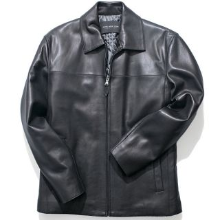Marc New York Mens Lamb Leather Bomber Jacket