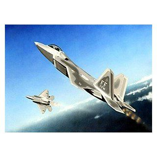 Trumpeter 1/144 F22A Raptor Fighter Toys & Games