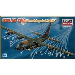 Models AC 130A Azrael Angel Of Death 1/144 Scale Toys & Games