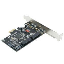 SYBA Combo SATA II/ IDE PCI e Host Controller Card