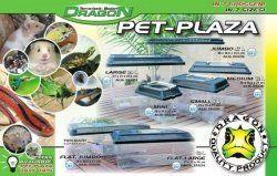 Pet Plaza   Kunststoff Terrarium Large 12,6L (BTH 36,5x21,5x24cm