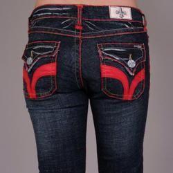 Laguna Beach Womens Seal Beach Indigo Bootcut Jeans