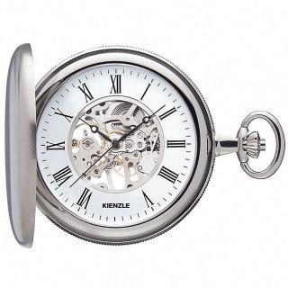 Kienzle Germany Mechanical Skeleton Savonette Pocket Watch