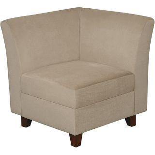 Clayton Customizable Microfiber Corner Seat