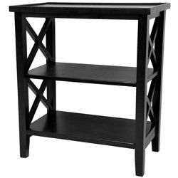 Wood 26 inch Architectural Bookcase Table (China)