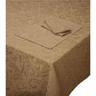 Ralph Lauren Table Linens, Suite Paisley 60 x 144 Tablecloth Camel