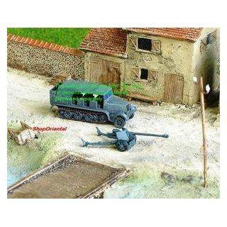 ANTI TANK GUN GERMAN WW2 75MM PAK40 1144 WARGAME #136A Toys & Games