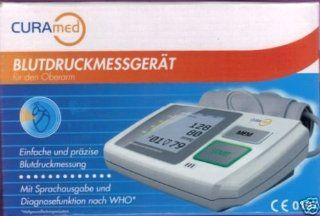 CURAMED Blutdruckmessgerät für den Oberarm Drogerie