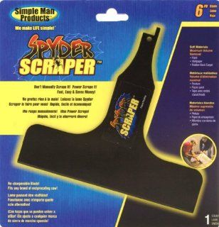 Simple Man Products 145 Spyder Scraper Scraping Tool Attachment for