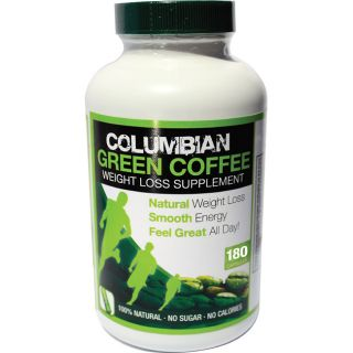 Columbian Green Coffee Weight Loss 180 count Capsules