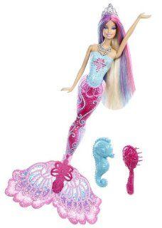 Mattel X9178   Barbie Farbzauber Meerjungfrau, Puppe: