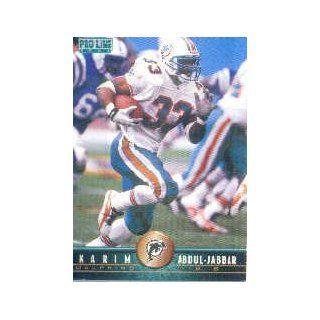 1997 Pro Line #141 Karim Abdul Jabbar: Collectibles