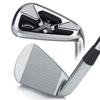Callaway Mens X 22 Tour 4 PW Iron Set