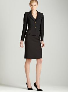Tahari Two button skirt suit