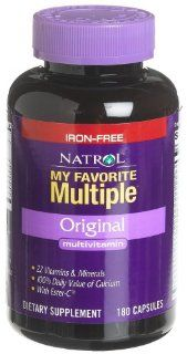 Natrol My Favorite Multiple Multi Vitamin without Iron