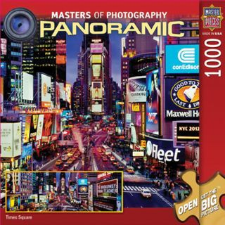 1000 Piece Masters Of Photography Times Square Panoramic Puzzle
