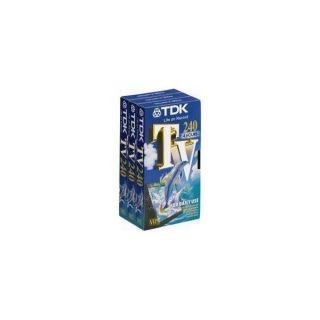 K7 Vidéo TDK VHS 240 TV P3   Achat / Vente VHS K7 Vidéo TDK VHS 240