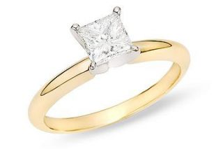 14k Gold 1ct TDW Diamond Solitaire Engagement Ring (G H, SI2 I1