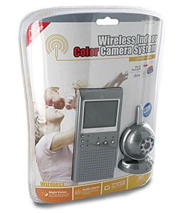 Wireless Portable Video Baby Monitor with LCD