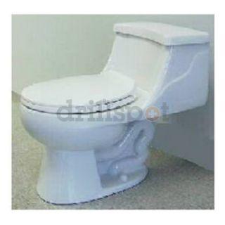 Jameco International Llc M 2490 White 1PC Round Toilet